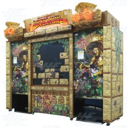 Lost Land Adventure Arcade Machine