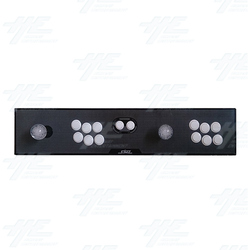 SJML 2 Player Control Panel with Joystick, Buttons and Wiring Harness