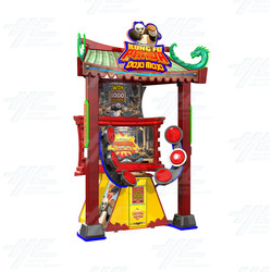 Kung Fu Panda Dojo Mojo Ticket Redemption Machine