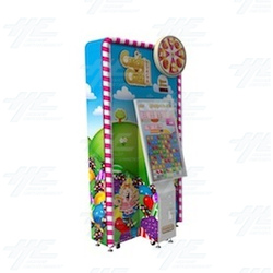 Candy Crush Saga Ticket Redemption Arcade Machine
