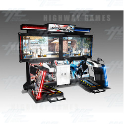 Time Crisis 5 DX Arcade Machine