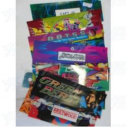 Assorted  Arcade Header Bulk Bundle (Pack of 15)
