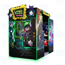 Luigi's Mansion Arcade Machine