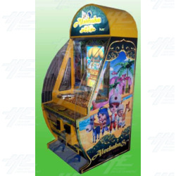 Aleebaba Chocolate Pusher Arcade Machine