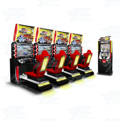 Wangan Midnight Maximum Tune 5 Arcade Machine Set (4 cabinets with server)