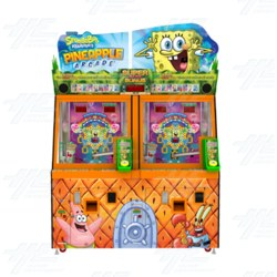 Spongebob Squarepants Pineapple Arcade Machine