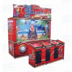 Captain Black Shooting Gallery Arcade Machine