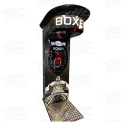 Boxer Power Black Arcade Machine