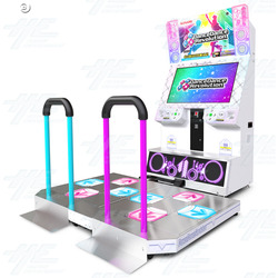 Dance Dance Revolution 2013 Arcade Machine (White Cabinet)