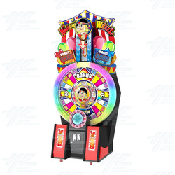 Magician's Wheel Arcade Machine