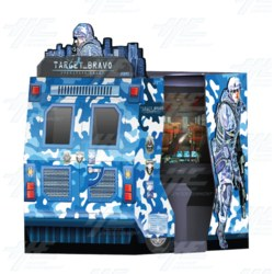 "Target Bravo: Operation Ghost 55"" Theatre Arcade Machine"