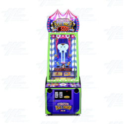 Circus Ball Drop Redemption Arcade Game