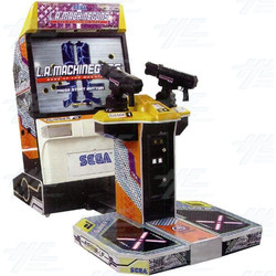 "LA Machine Guns 50"" DX Arcade Machine"