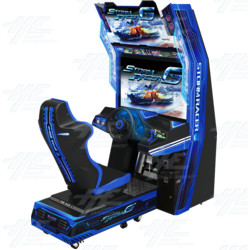 "Storm Racer Gravity 42"" Arcade Driving Machine"