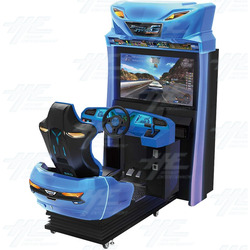 "Storm Racer Gravity 42"" Motion DLX Arcade Driving Machine"