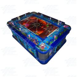 Arcooda 8 Player Fish Machine - Deluxe Edition