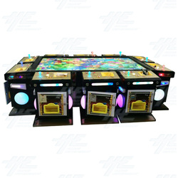 10 Player Table Fish Machine Cabinet (HG002)