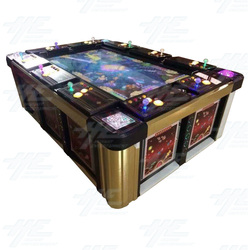 10 Player Table Fish Machine Cabinet (HG005)