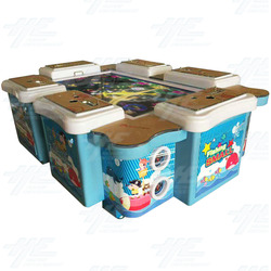 6 Player Table Fish Machine Cabinet (HG018)