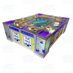 10 Player Table Fish Machine Cabinet (HG021)