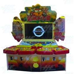 4 Player Vertical Fish Machine Cabinet (HG027)