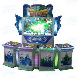 4 Player Vertical Fish Machine Cabinet (HG028)