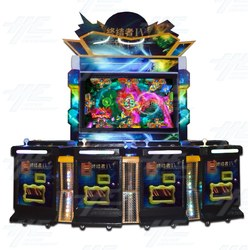 4 Player Vertical Fish Machine Cabinet (HG029)
