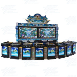 8 Player Vertical Fish Machine Cabinet (HG030)