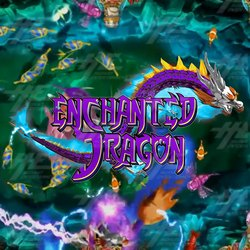 Enchanted Dragon Fish Game Board