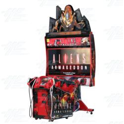 Aliens Armageddon Arcade Machine