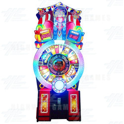 Magicians Wheel Ticket Redemption Machine