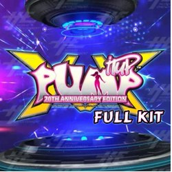 Pump It Up XX Arcade 20th Anniversary Edition Gameboard Kit