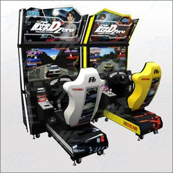 Initial D Stage Zero Twin Arcade Machine