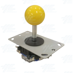 Yellow Ball Top Joystick for Arcade Machine