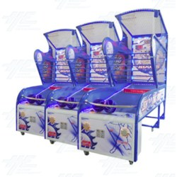 Shooting Hoops 5 Ticket Redemption Machine