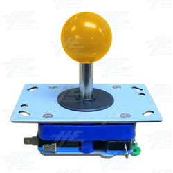Yellow Ball Top Joystick for Arcade Machine (Zippy Styled)