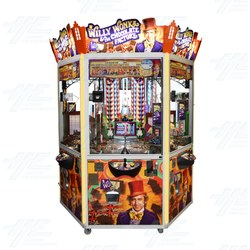 Willy Wonka 6 Player Coin Pusher Machine (Clearance)