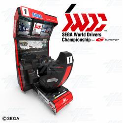 Sega World Drivers Championship Arcade Machine