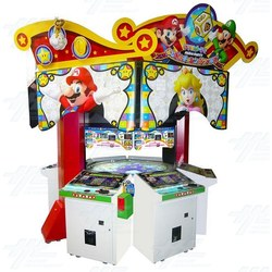 Mario Party Challenge World Medal Pusher Machine
