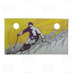 Alpine Racer Cabinet Sticker