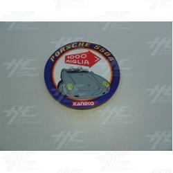 1000 Miglia Round Porsche 550A Stickers