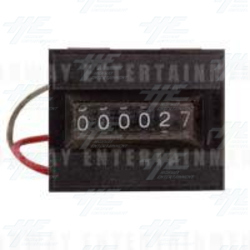 Keiso 6 Digit Electromagnetic Counter Series GX - Model: GX-06RL