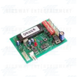 Ticket Driver PCB - IC no: 041102