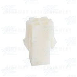 TYCO ELECTRONICS Universal Receptacle Housing, 4 Way Mate N Lok Plug - 172159-1