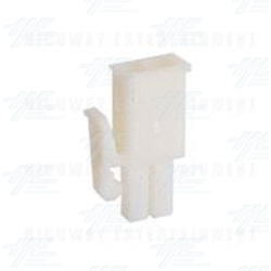 TYCO ELECTRONICS Universal Plug Housing, 2 Way Mate N Lok Plug - 172165-1