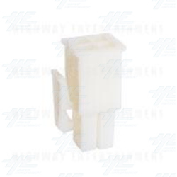 TYCO ELECTRONICS Universal Plug Housing, 4 Way Mate N Lok Plug - 172167-1
