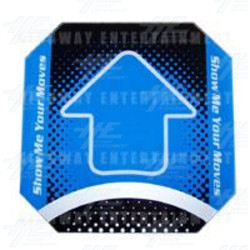 Replacement Arrow for DDR Machine - Blue