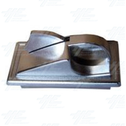 Adjoining Coin Chute and Reject Lever - Design 1 - Small