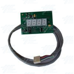 4 Digital Display with Wiring - PCB No: DISP5/02 LC