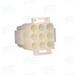 TYCO ELECTRONICS / AMP 9 Way Plug Housing - 350720-4